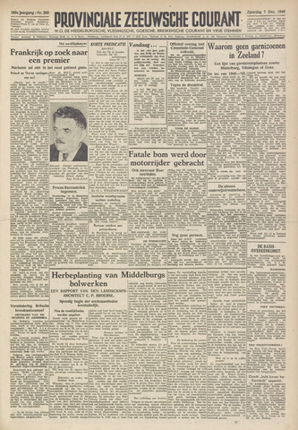 Provinciale Zeeuwse Courant 1946-12-07
