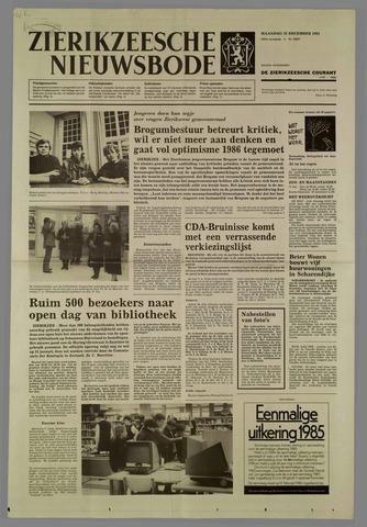 Zierikzeesche Nieuwsbode 1985-12-16