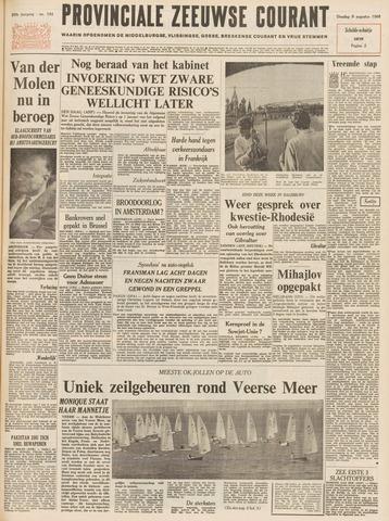 Provinciale Zeeuwse Courant 1966-08-09