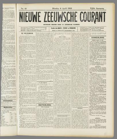 Nieuwe Zeeuwsche Courant 1909-04-06