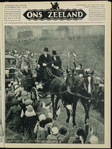 Ons Zeeland / Zeeuwsche editie 1932-11-25