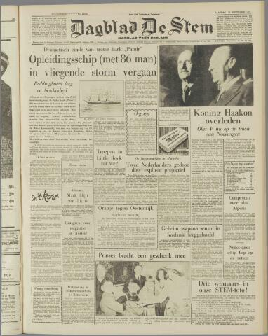 de Stem 1957-09-23