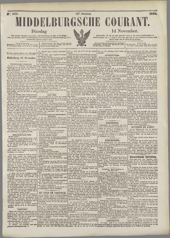 Middelburgsche Courant 1899-11-14