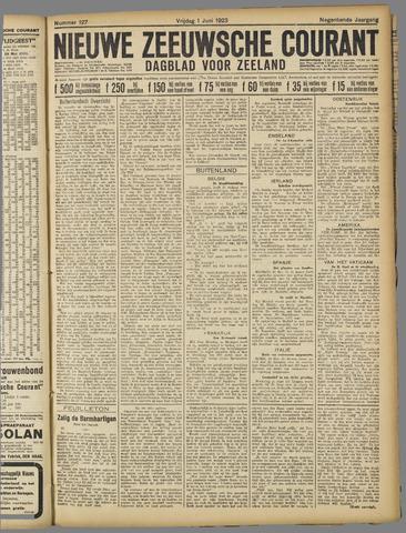 Nieuwe Zeeuwsche Courant 1923-06-01