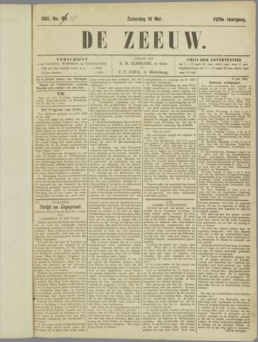 De Zeeuw. Christelijk-historisch nieuwsblad voor Zeeland 1891-05-16