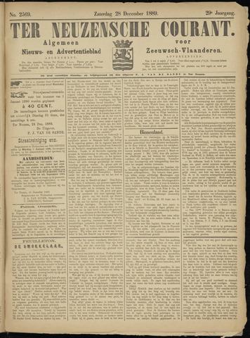 Ter Neuzensche Courant. Algemeen Nieuws- en Advertentieblad voor Zeeuwsch-Vlaanderen / Neuzensche Courant ... (idem) / (Algemeen) nieuws en advertentieblad voor Zeeuwsch-Vlaanderen 1889-12-28