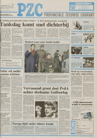 Provinciale Zeeuwse Courant 1991-02-04