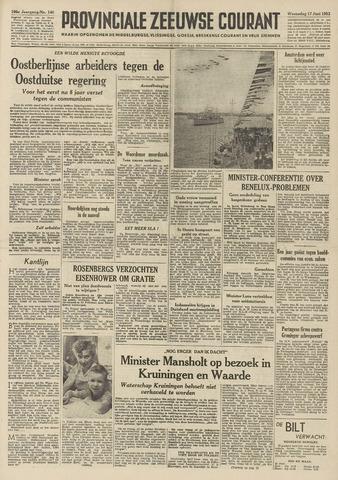 Provinciale Zeeuwse Courant 1953-06-17