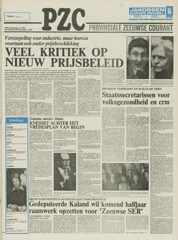 Provinciale Zeeuwse Courant 1977-12-29