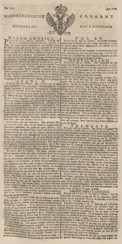 Middelburgsche Courant 1780-11-09