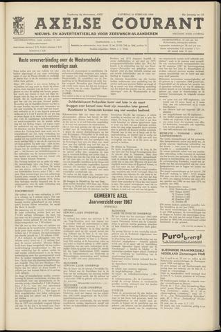 Axelsche Courant 1968-02-24