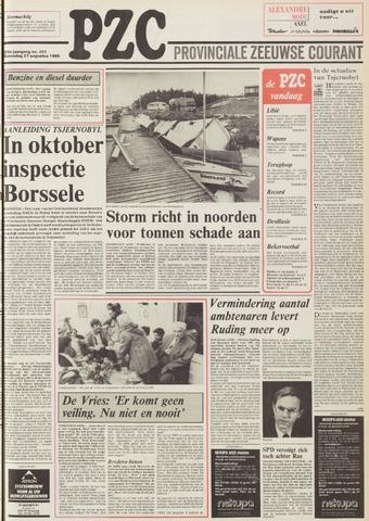Provinciale Zeeuwse Courant 1986-08-27
