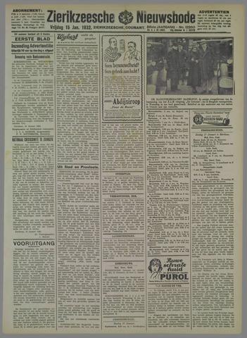 Zierikzeesche Nieuwsbode 1932-01-15