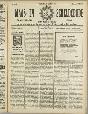 Maas- en Scheldebode 1932