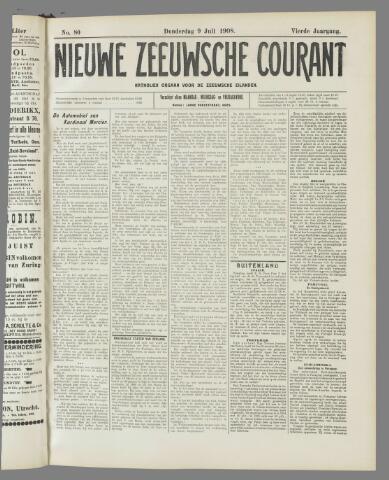 Nieuwe Zeeuwsche Courant 1908-07-09