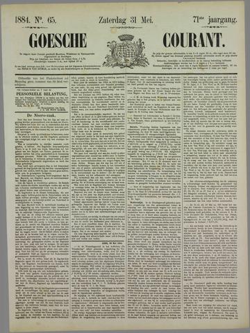 Goessche Courant 1884-05-31