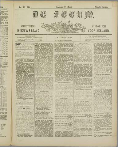 De Zeeuw. Christelijk-historisch nieuwsblad voor Zeeland 1898-03-17