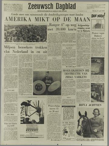 Zeeuwsch Dagblad 1962-04-24