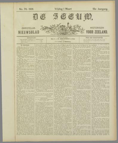 De Zeeuw. Christelijk-historisch nieuwsblad voor Zeeland 1901-03-01