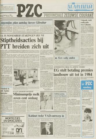 Provinciale Zeeuwse Courant 1983-10-11