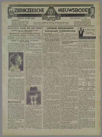 Zierikzeesche Nieuwsbode 1940-05-10