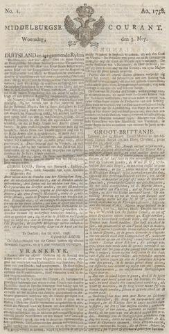Middelburgsche Courant 1758-05-03