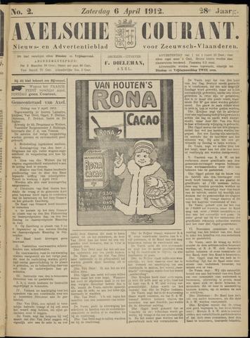 Axelsche Courant 1912-04-06