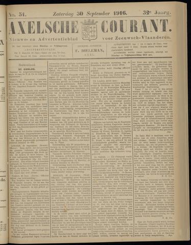 Axelsche Courant 1916-09-30