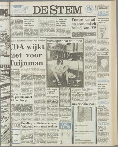 de Stem 1981-06-17