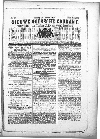 Nieuwe Goessche Courant 1875-12-14