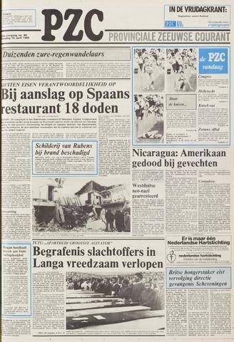 Provinciale Zeeuwse Courant 1985-04-15