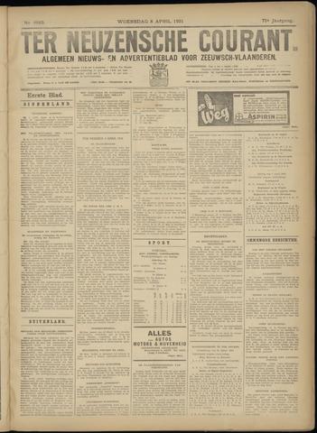 Ter Neuzensche Courant. Algemeen Nieuws- en Advertentieblad voor Zeeuwsch-Vlaanderen / Neuzensche Courant ... (idem) / (Algemeen) nieuws en advertentieblad voor Zeeuwsch-Vlaanderen 1931-04-08