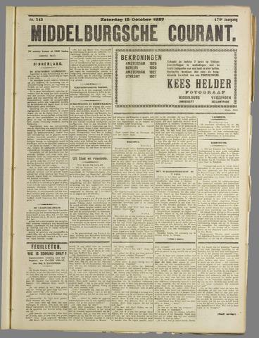 Middelburgsche Courant 1927-10-15