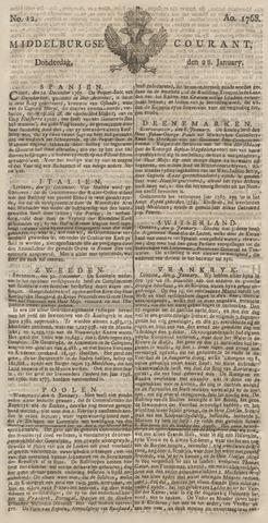 Middelburgsche Courant 1768-01-28