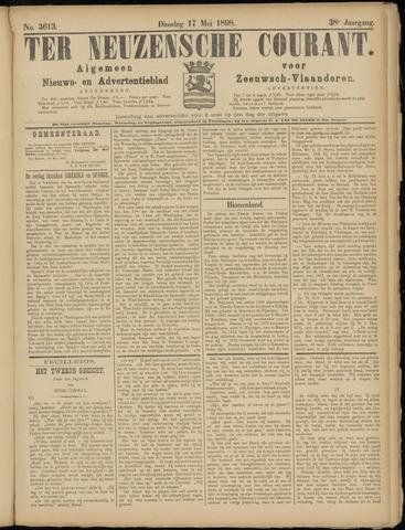 Ter Neuzensche Courant. Algemeen Nieuws- en Advertentieblad voor Zeeuwsch-Vlaanderen / Neuzensche Courant ... (idem) / (Algemeen) nieuws en advertentieblad voor Zeeuwsch-Vlaanderen 1898-05-17