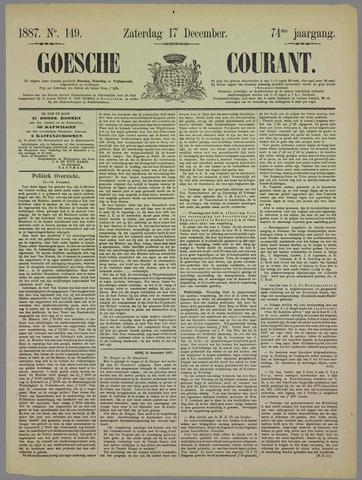 Goessche Courant 1887-12-17