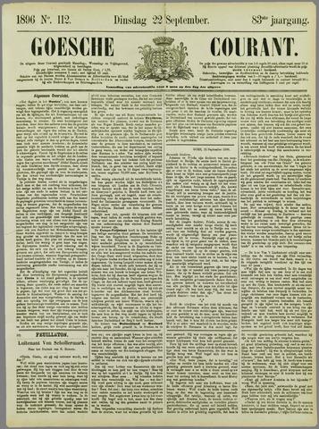 Goessche Courant 1896-09-22