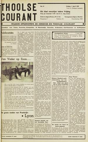 Ierseksche en Thoolsche Courant 1949-04-01