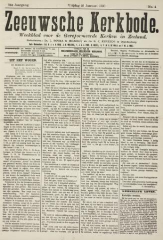 Zeeuwsche kerkbode, weekblad gewijd aan de belangen der gereformeerde kerken/ Zeeuwsch kerkblad 1920-01-23