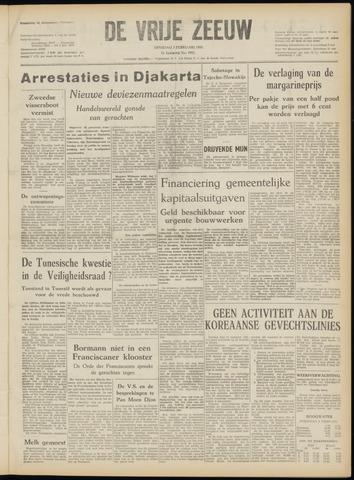 de Vrije Zeeuw 1952-02-05