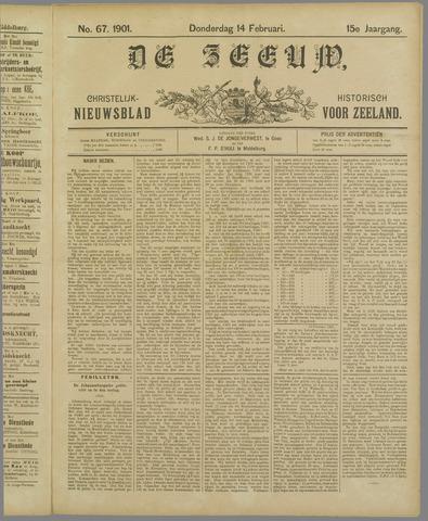 De Zeeuw. Christelijk-historisch nieuwsblad voor Zeeland 1901-02-14