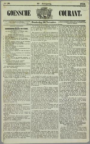 Goessche Courant 1862-11-20