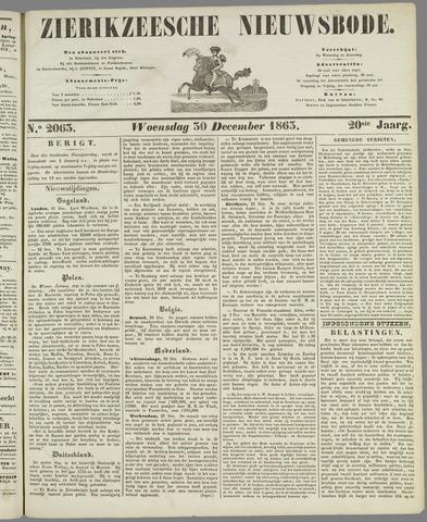 Zierikzeesche Nieuwsbode 1863-12-30
