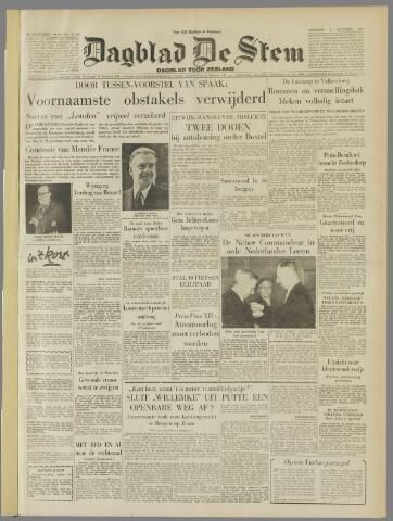 de Stem 1954-10-01