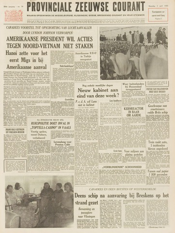 Provinciale Zeeuwse Courant 1965-04-05