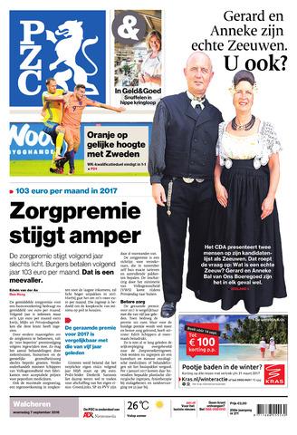 Provinciale Zeeuwse Courant 2016-09-07