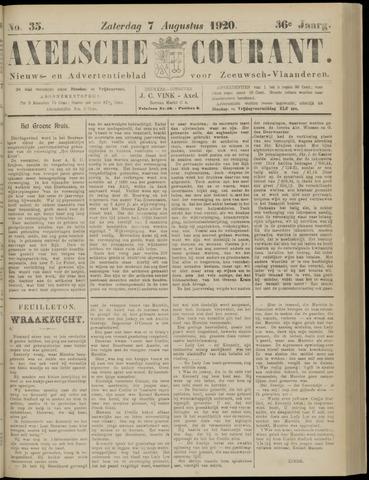 Axelsche Courant 1920-08-07