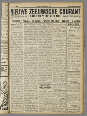 Nieuwe Zeeuwsche Courant 1923-02-23