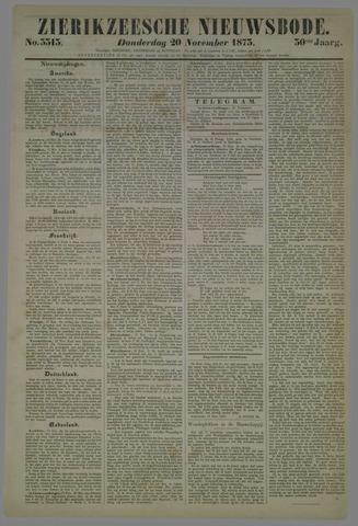 Zierikzeesche Nieuwsbode 1873-11-20