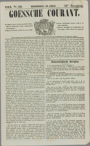 Goessche Courant 1864-04-28